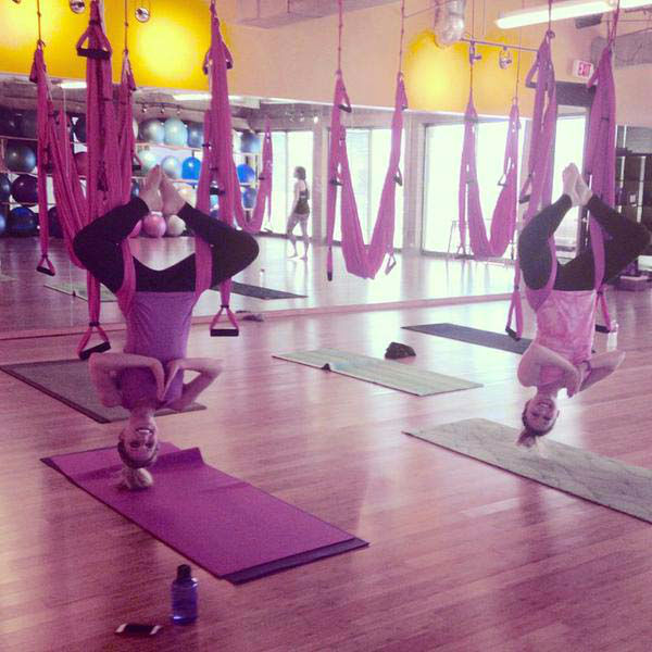 """<div class=""""meta image-caption""""><div class=""""origin-logo origin-image none""""><span>none</span></div><span class=""""caption-text"""">Katherine Yoga and a friend trying out aerial yoga (KTRK Photo)</span></div>"""