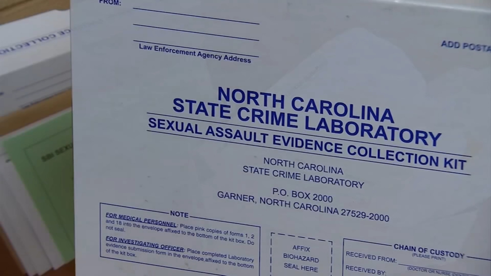 RTP research group spearheads effort to clear backlog of sexual assault cases