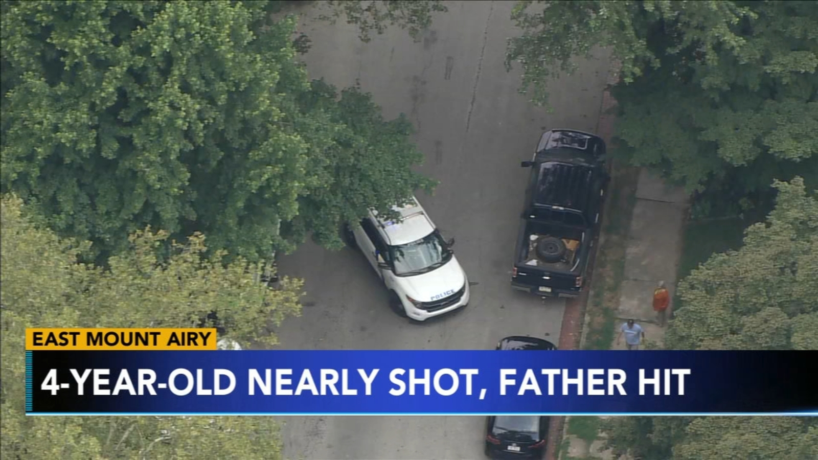 Girl, 4, escapes hail of bullets in East Mount Airy; father targeted