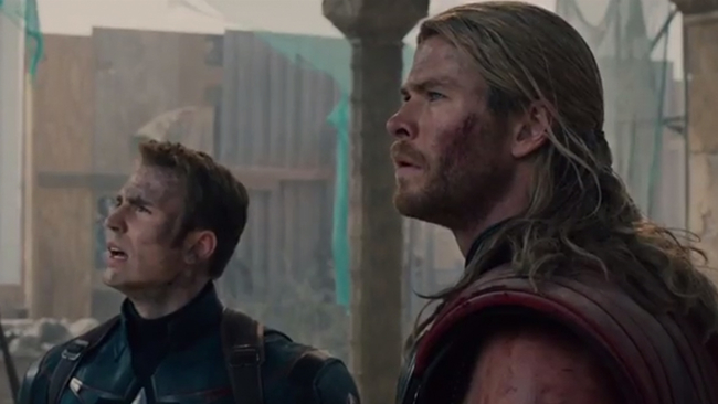 SUPER FUNNY: Cast of the 'Avengers' assembles to play Family