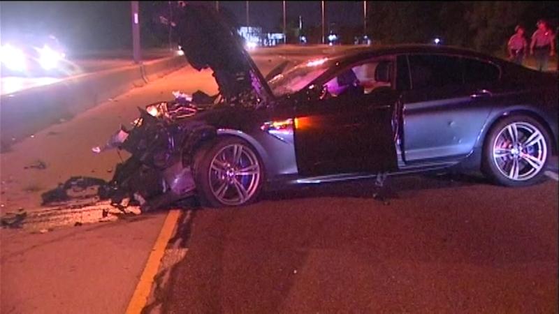 Edens Expressway northbound lanes reopen after fatal multi-car crash