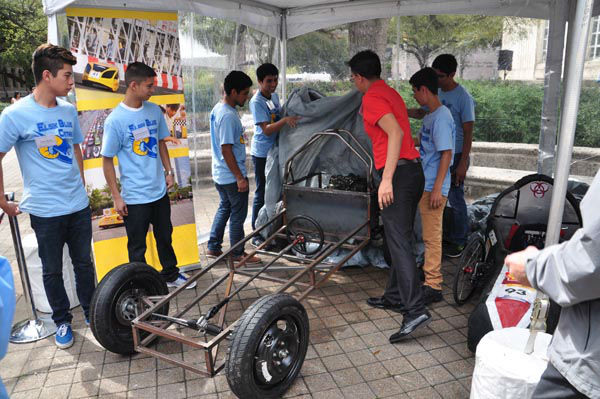 """<div class=""""meta image-caption""""><div class=""""origin-logo origin-image none""""><span>none</span></div><span class=""""caption-text"""">Students from local high schools and universities from around the world are getting ready to compete in the 9th annual Shell Eco-Marathon (KTRK Photo)</span></div>"""