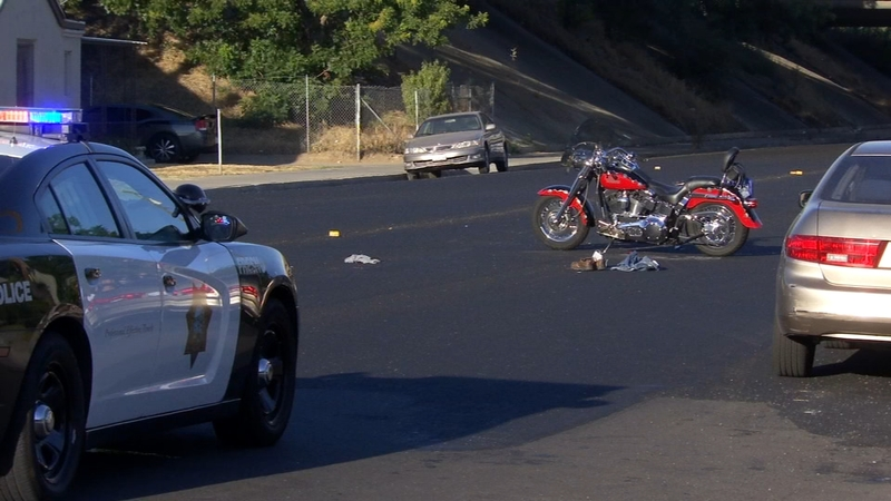 Motorcyclist dies after crash in central Fresno
