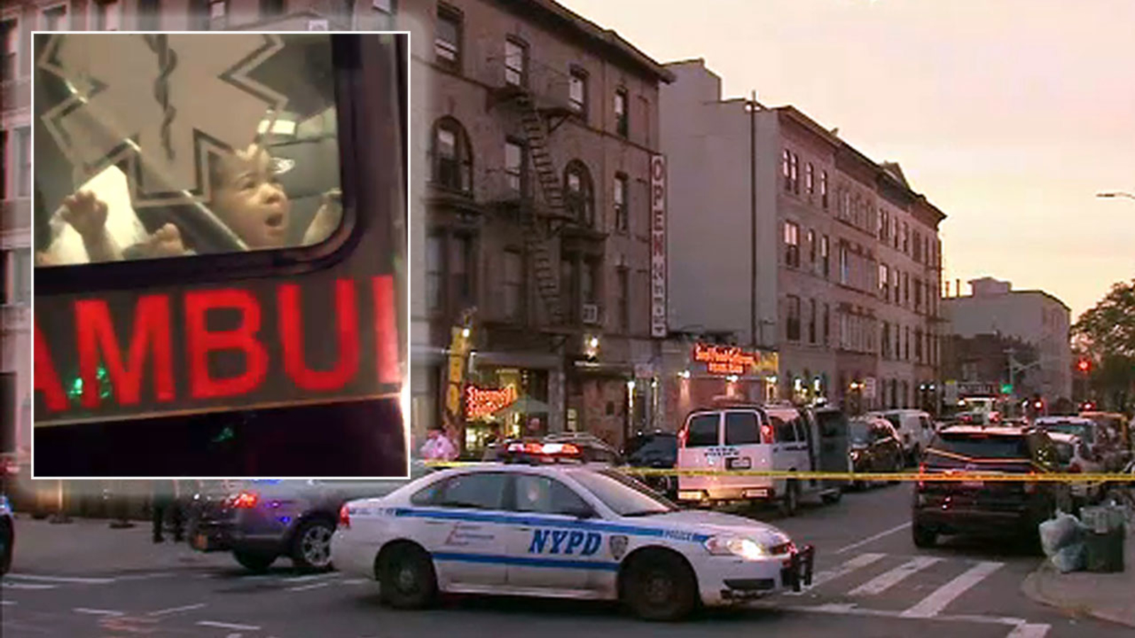 1-year-old inside SUV stolen in Crown Heights, Brooklyn found safe