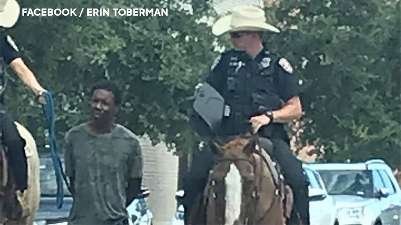 Black Man Who Police Led by Rope While Under Arrest Sues City of Galveston for  Million