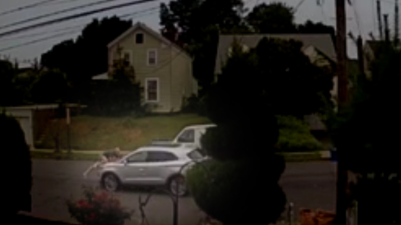 VIDEO: Man hangs onto hood of his stolen car for 2 miles during getaway in  Belleville, New Jersey