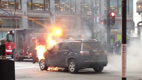 car fire loop