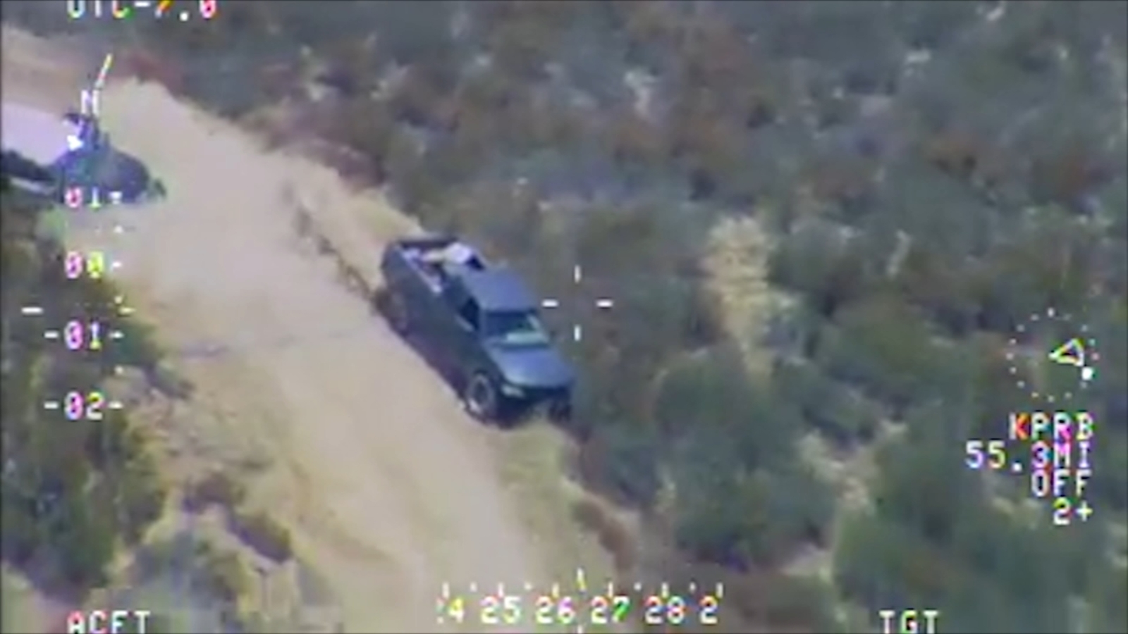 Caught on camera: Suspect in stolen vehicle leads SLO CHP officers on high-speed chase