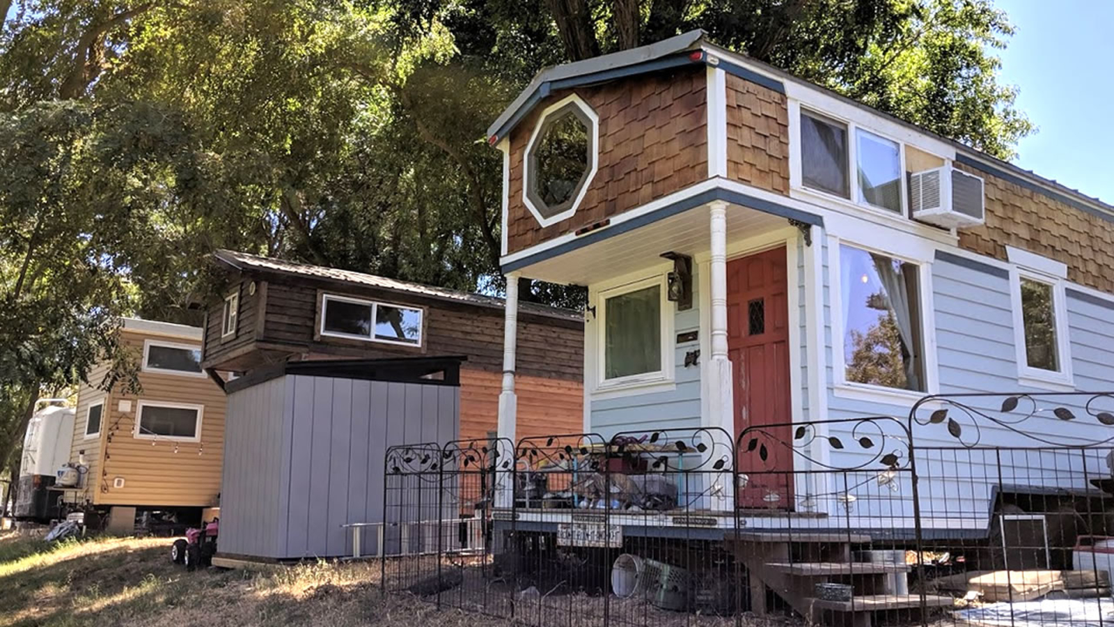 Stupendous A Look At Norcals First Legal Tiny House Community Download Free Architecture Designs Scobabritishbridgeorg