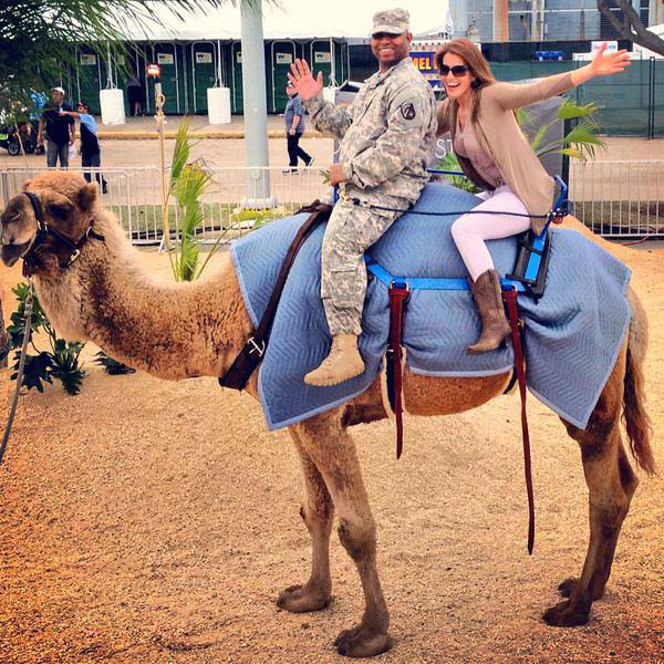 "<div class=""meta image-caption""><div class=""origin-logo origin-image none""><span>none</span></div><span class=""caption-text"">Natasha and the camel on Hump Day (KTRK Photo)</span></div>"
