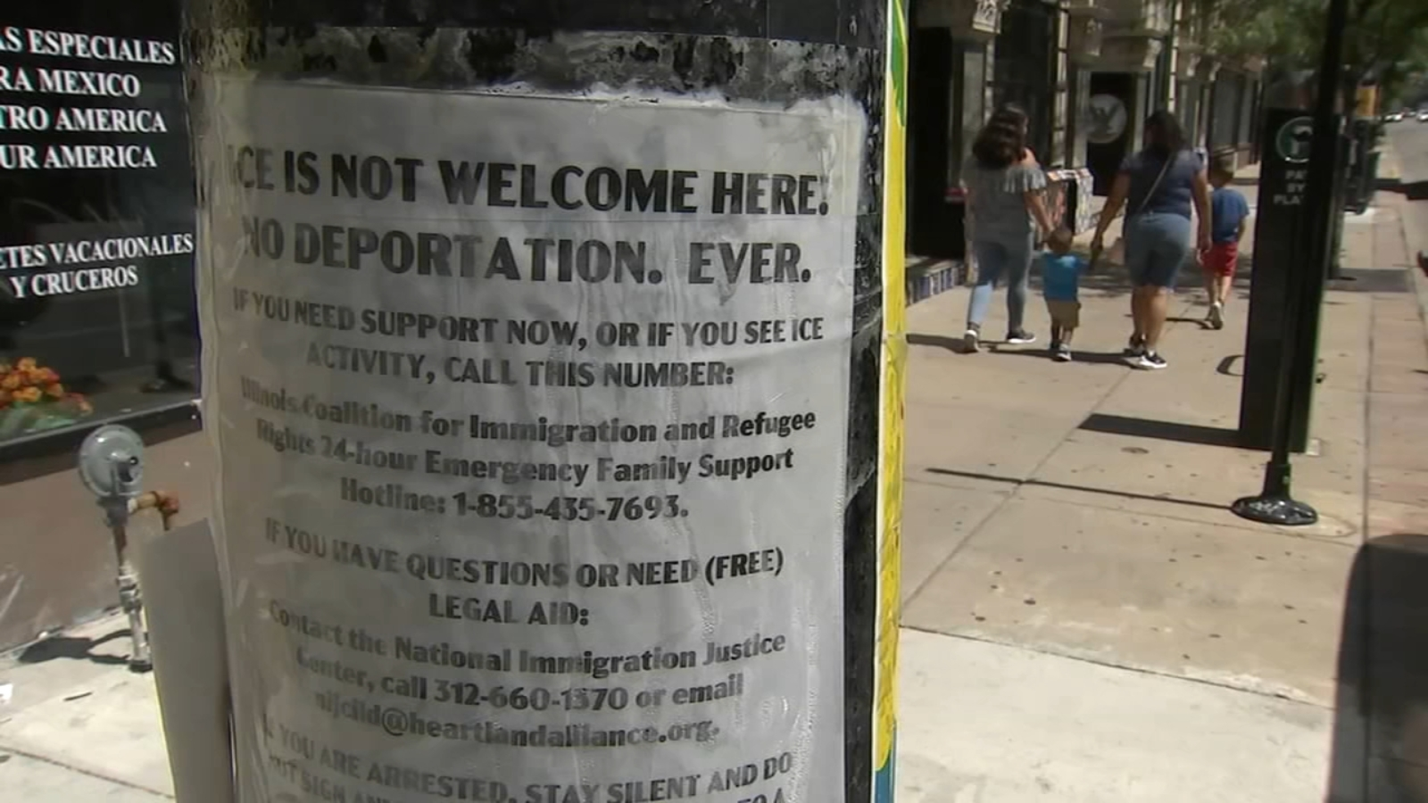Unfounded reports of ICE agents in Pilsen stoke fear after massive raids in Mississippi