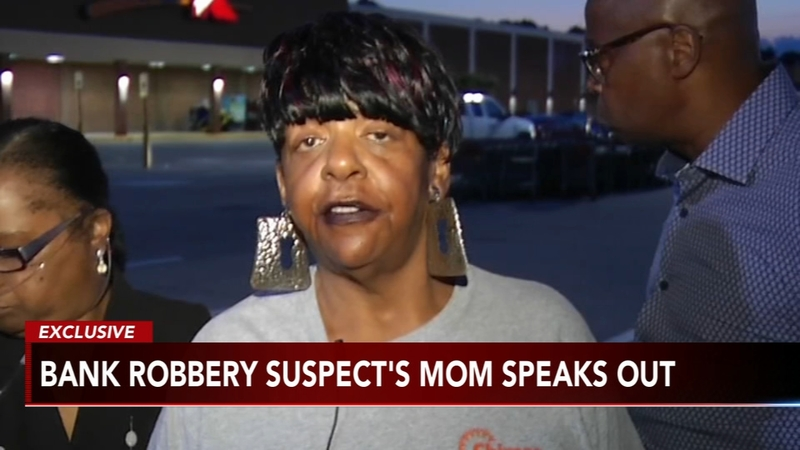 Mother of alleged serial bank robber speaks exclusively to Action News