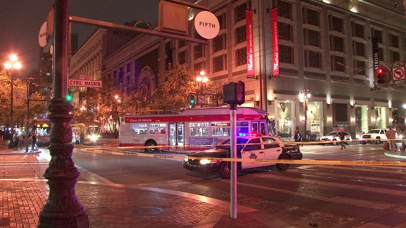 Taxicab fatally strikes woman in Downtown San Francisco