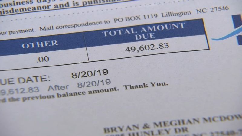 Holly Springs family gets $49,000 water bill