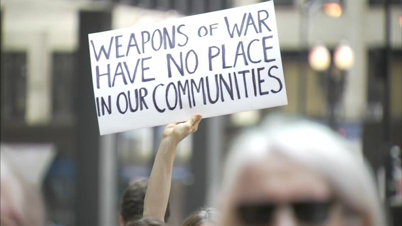 Protest against gun violence