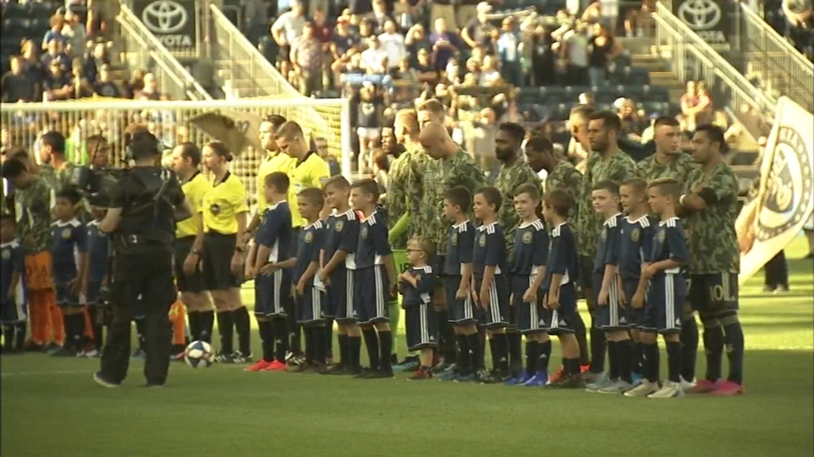 Military Appreciation Night at Philadelphia Union game