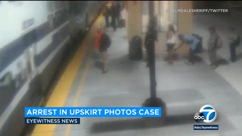 Suspect wanted for taking pictures upskirt arrested