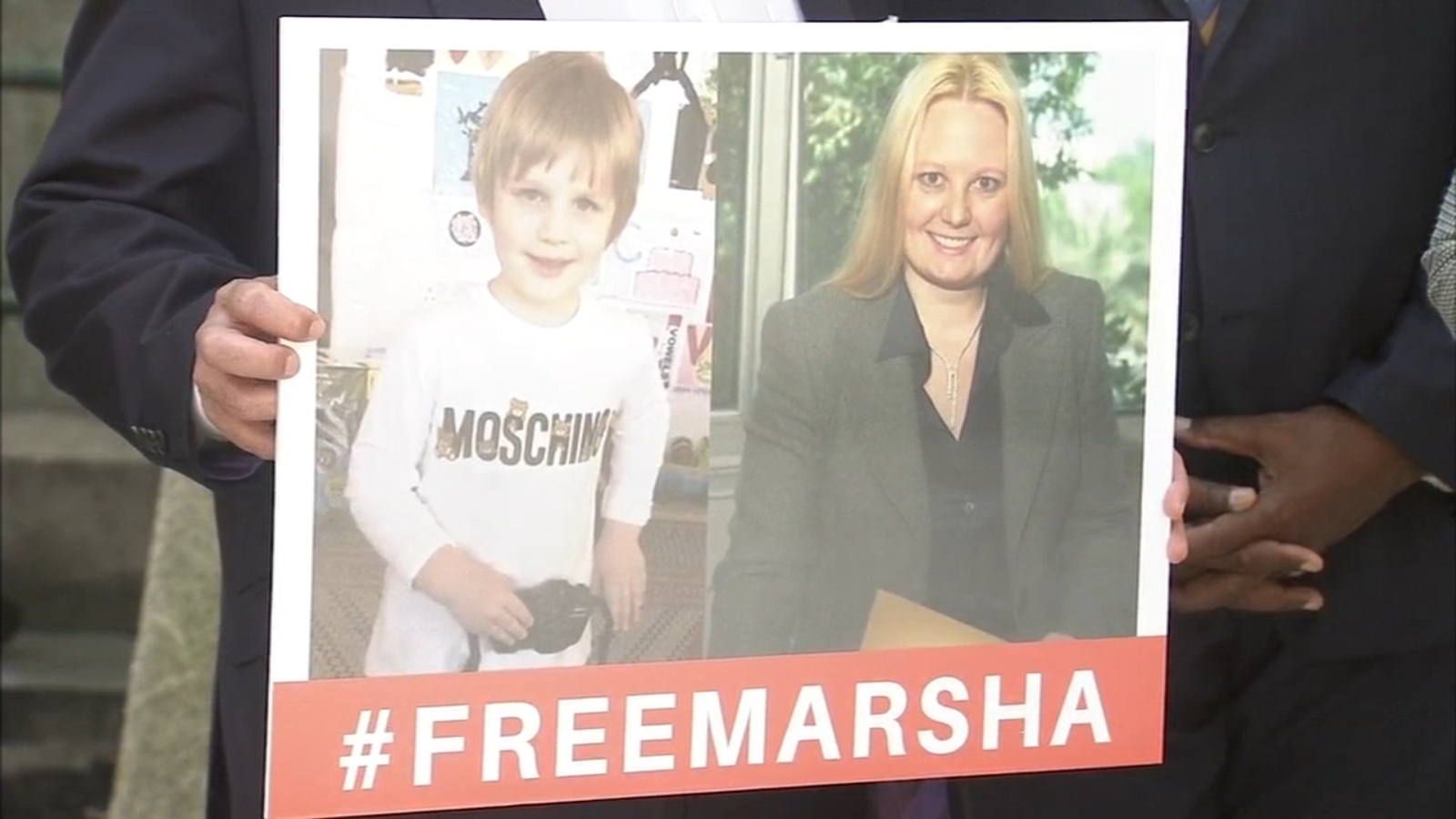 Friends of Bryn Mawr being held in Kuwait press for her release