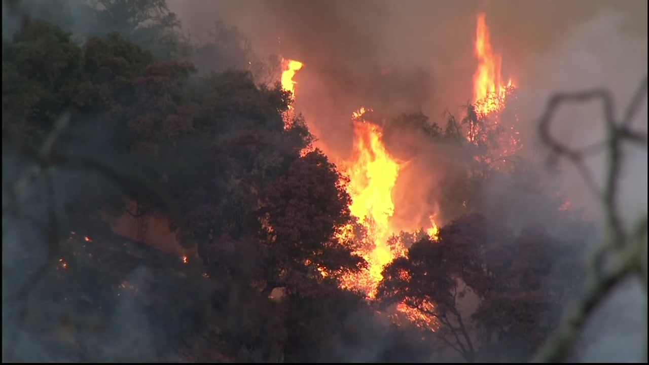 Wildfire causes evacuations in Mendocino County