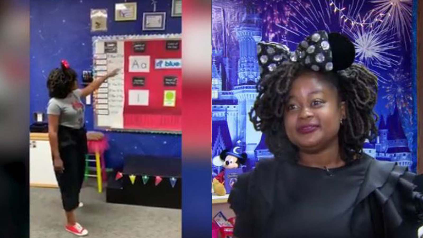 Fresno Unified teacher's video of Disney-themed classroom goes viral