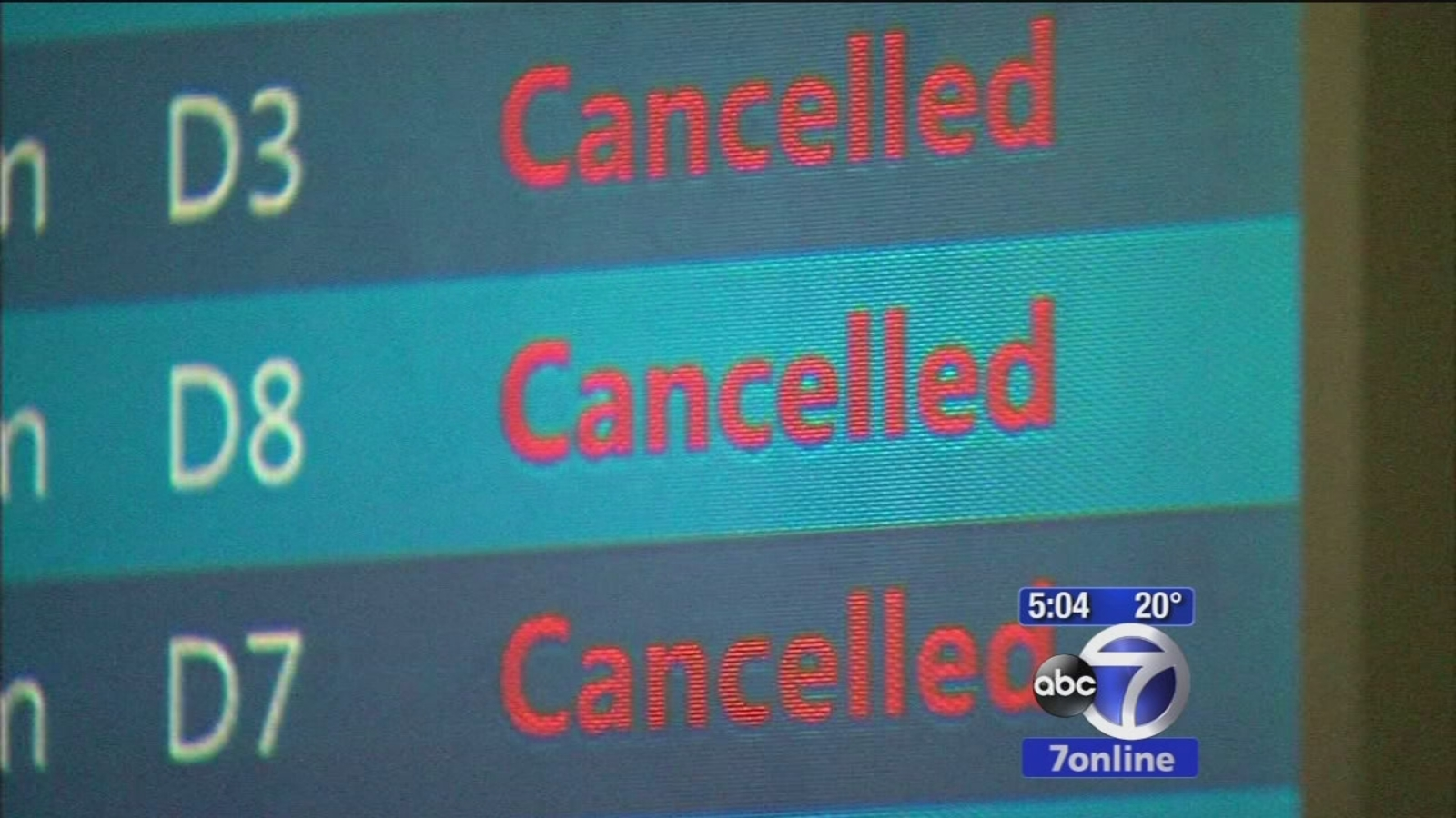 are delta flights cancelled today