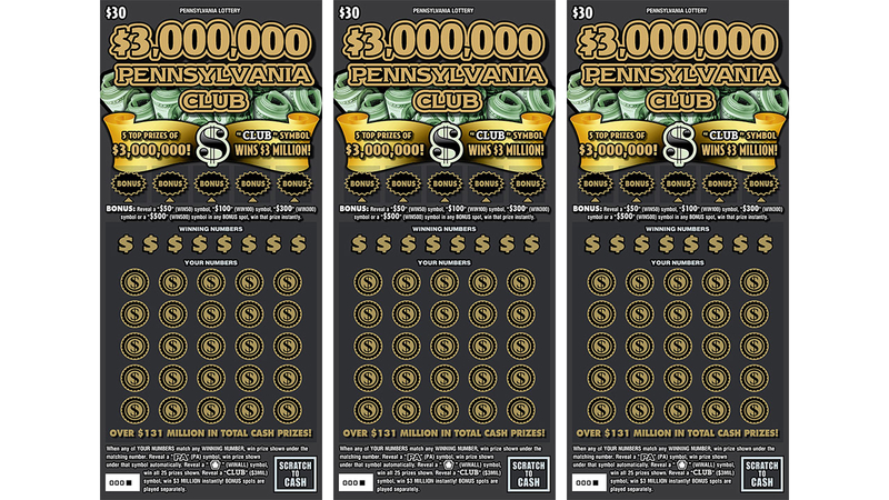 Scratch-off worth $3M sold at Philly water ice shop