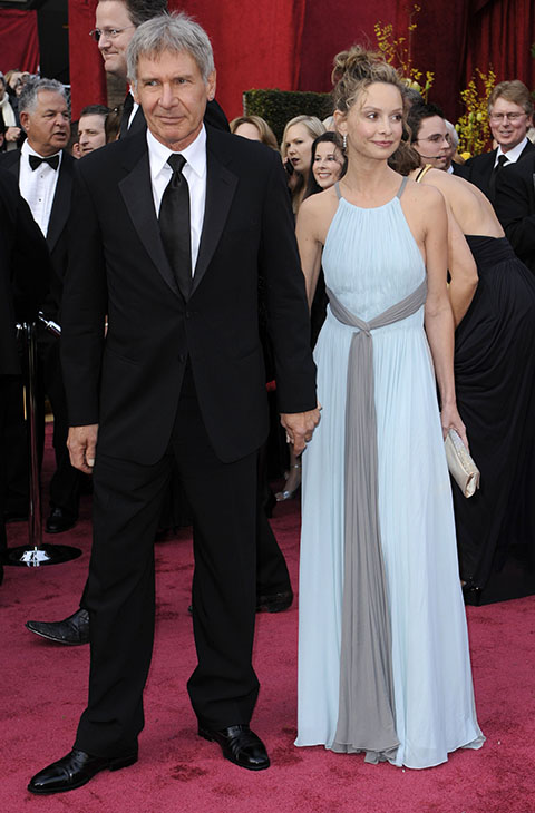 "<div class=""meta image-caption""><div class=""origin-logo origin-image ap""><span>AP</span></div><span class=""caption-text"">Harrison Ford, left, and actress Calista Flockhart arrive for the 80th Academy Awards Sunday, Feb. 24, 2008, in Los Angeles.</span></div>"