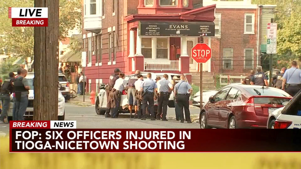 Abc 6 Philly >> Philadelphia Shooting Injures 9 Officers 6 Shot Suspected Shooter