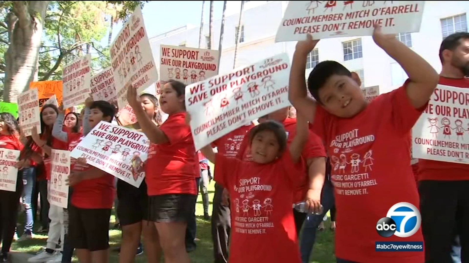 Echo Park residents urge city officials to save recreation area for at-risk youth