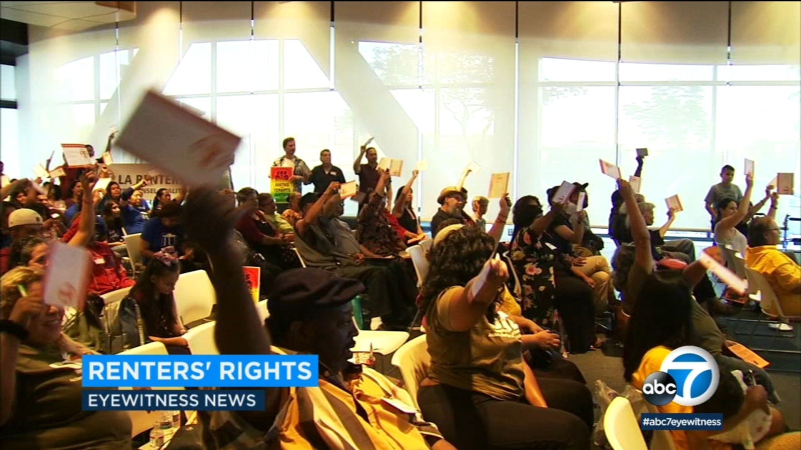 Advocates at town hall want right to counsel for LA tenants facing eviction