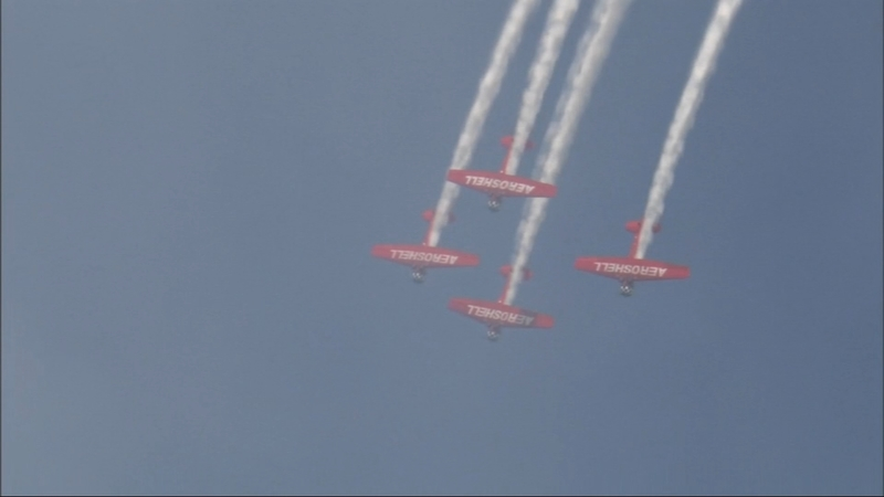 Chicago Air and Water Show 2019: Planes rehearsing above
