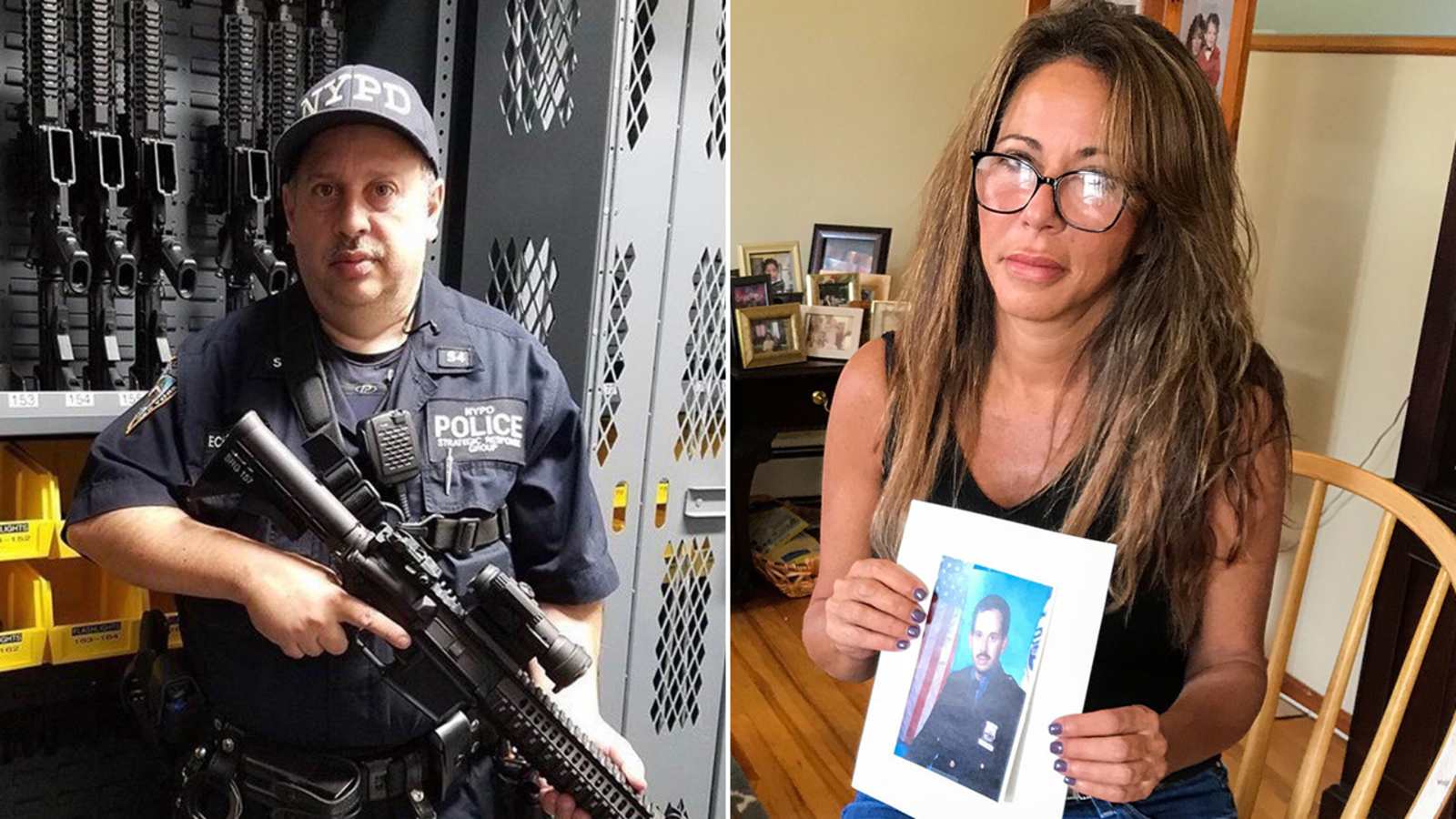 Sister of officer who died by suicide Wednesday says NYPD is 'broken'