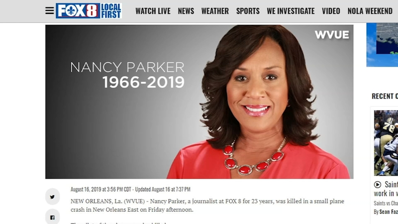 Journalist killed on the job in New Orleans plane crash