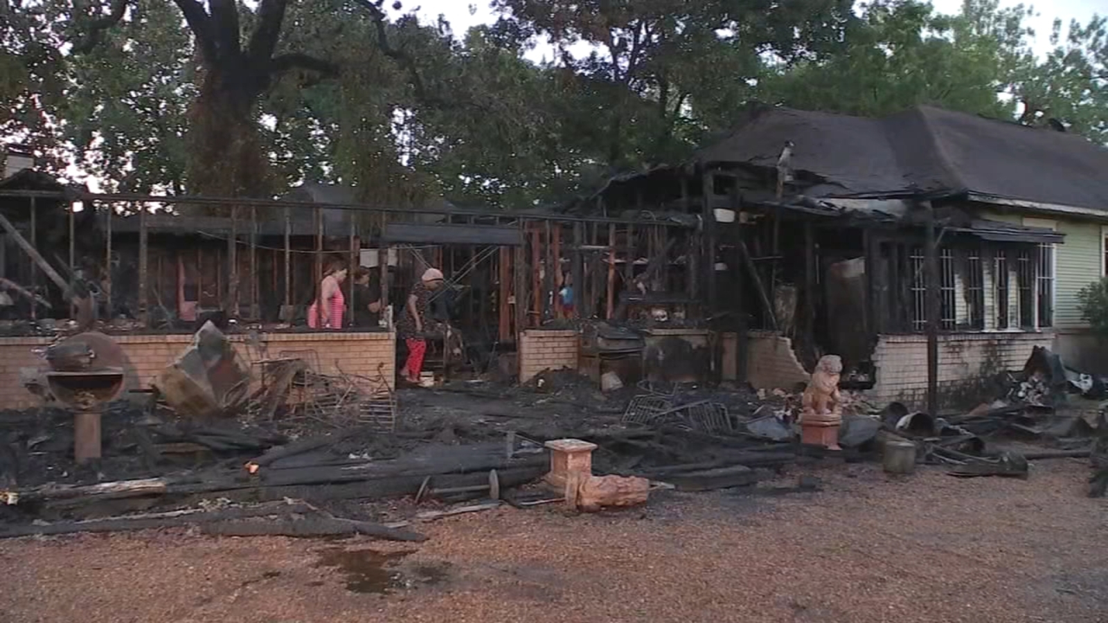 Image result for Houston family loses back-to-school clothes, supplies in house fire