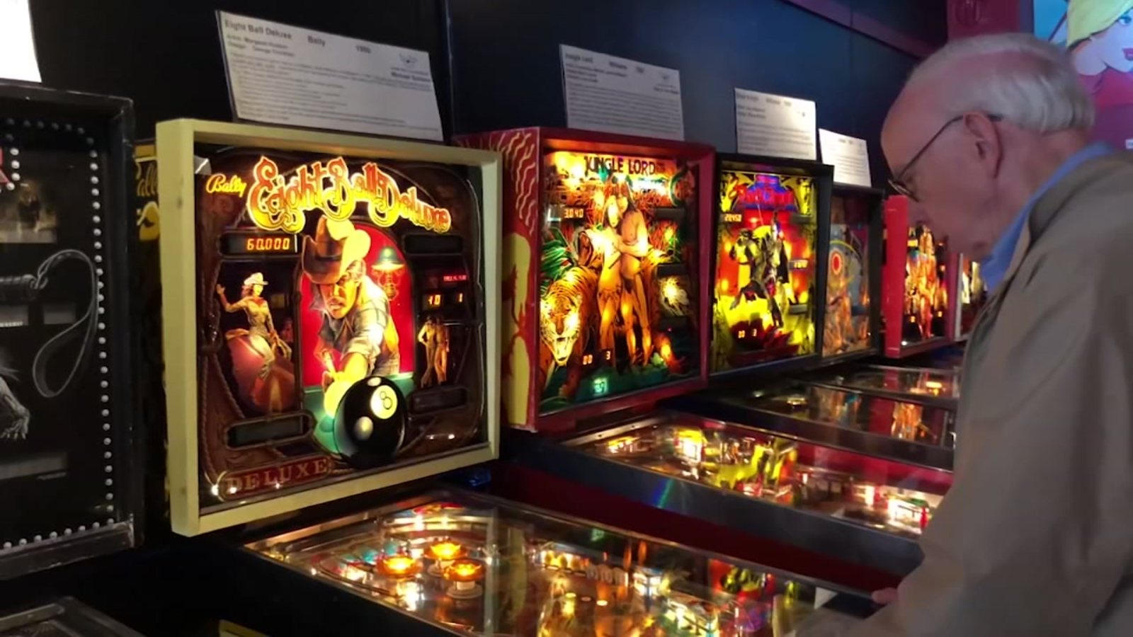 Alameda's Pacific Pinball Museum offers rare look into history, evolution of the pinball machine - ABC7 San Francisco