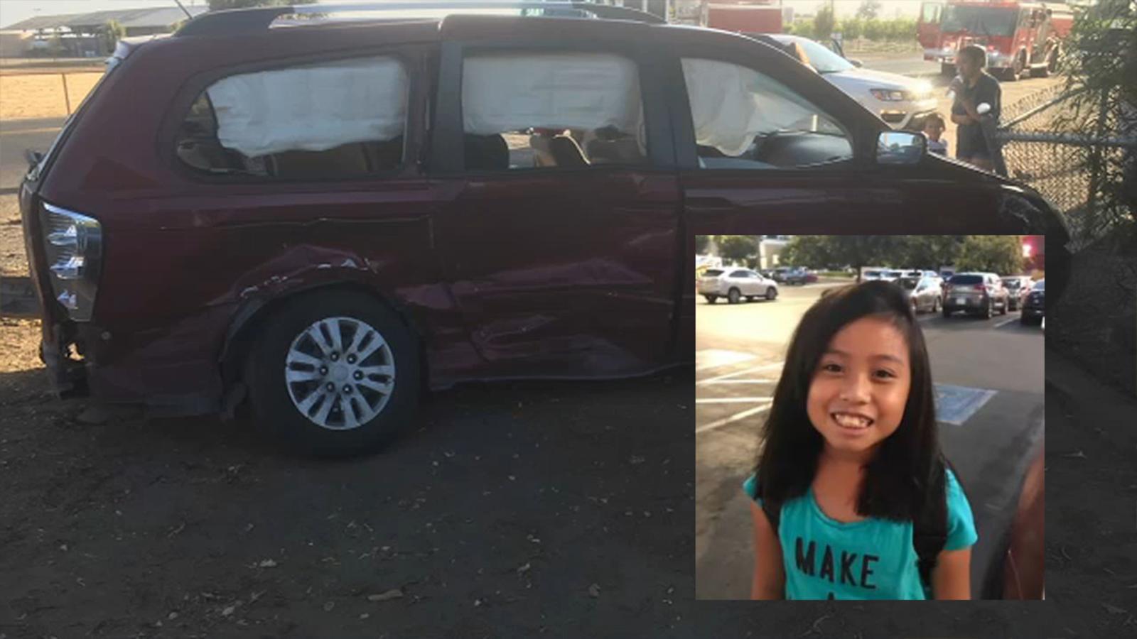Saat kecelaakan terjadi, Francine berada dalam perjalanan pulang sebelum kendaraan yang dia tumpangi di tabrak oleh mobil lain di California, AS. Francine kemudian mendapatkan perawatan di Valley Children's Hospital.