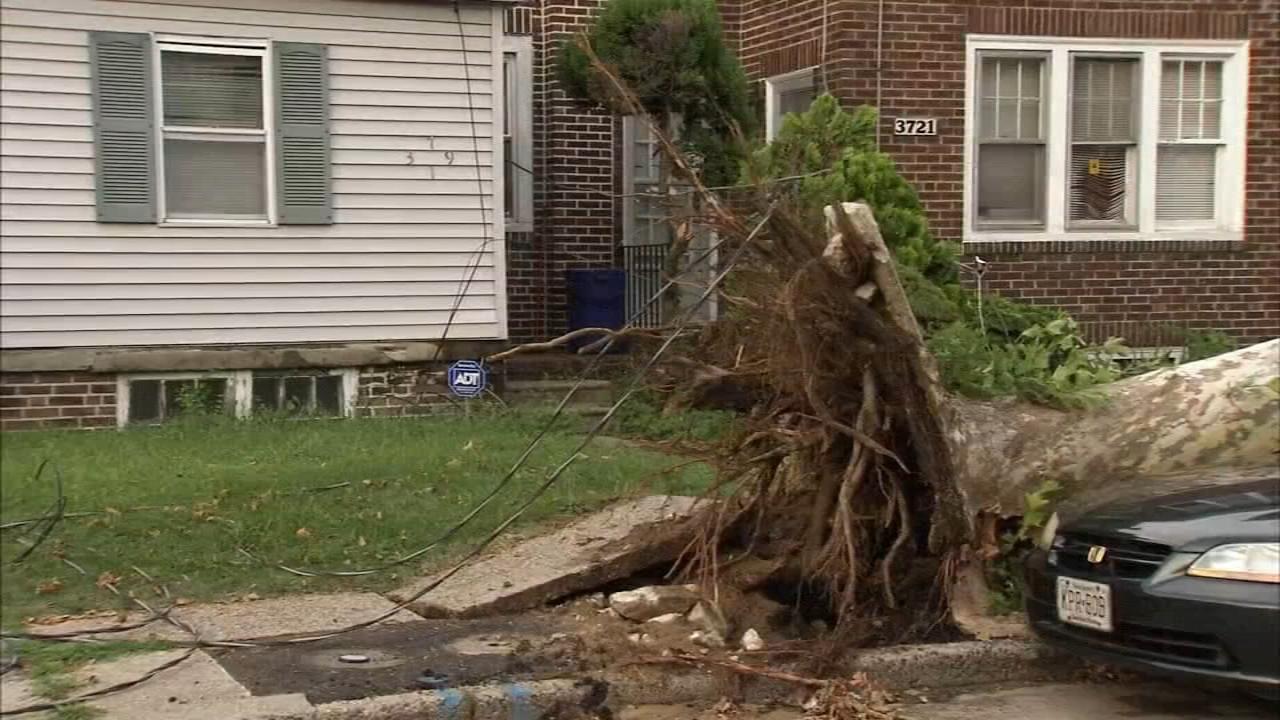 Severe storms leave trail of destruction across parts of NJ