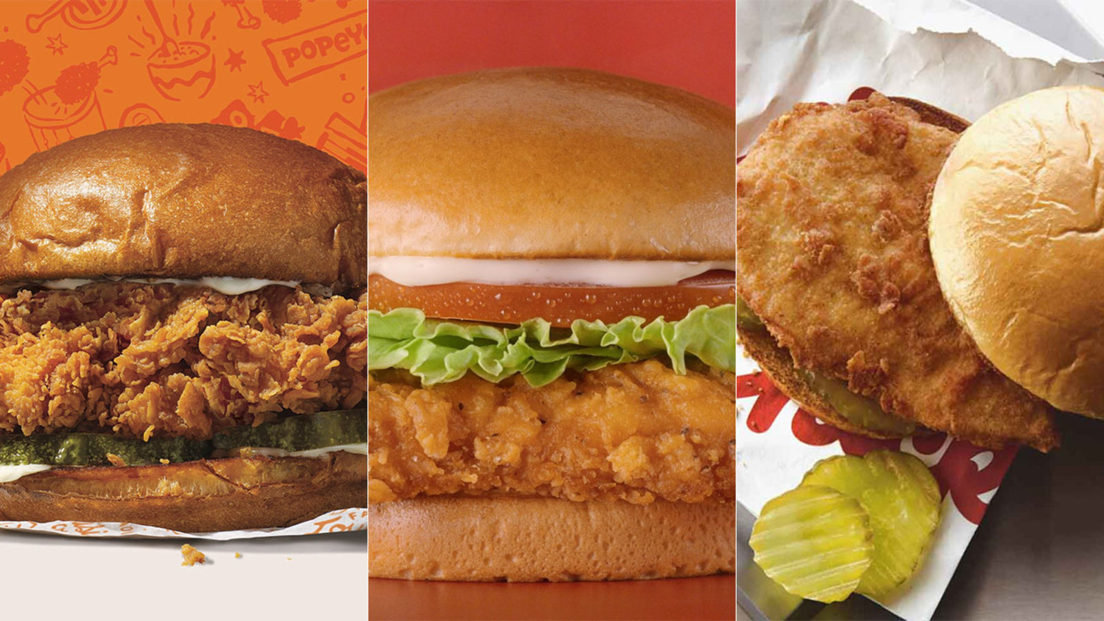 #ChickenWars: Popeyes, Wendy's, Chick-fil-A battle on social media over best chicken sandwich