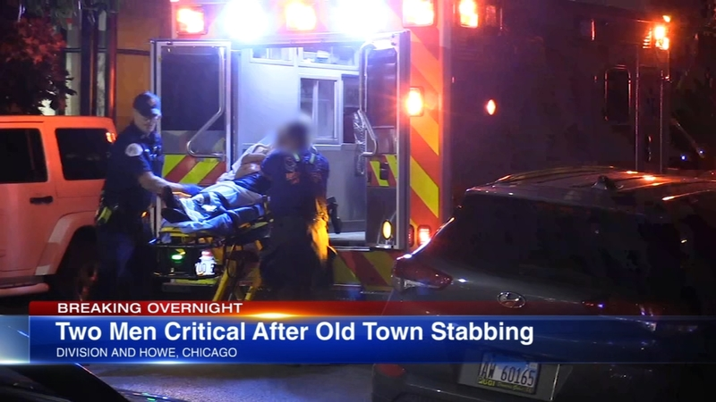 1 in custody, 2 injured after stabbing in Old Town
