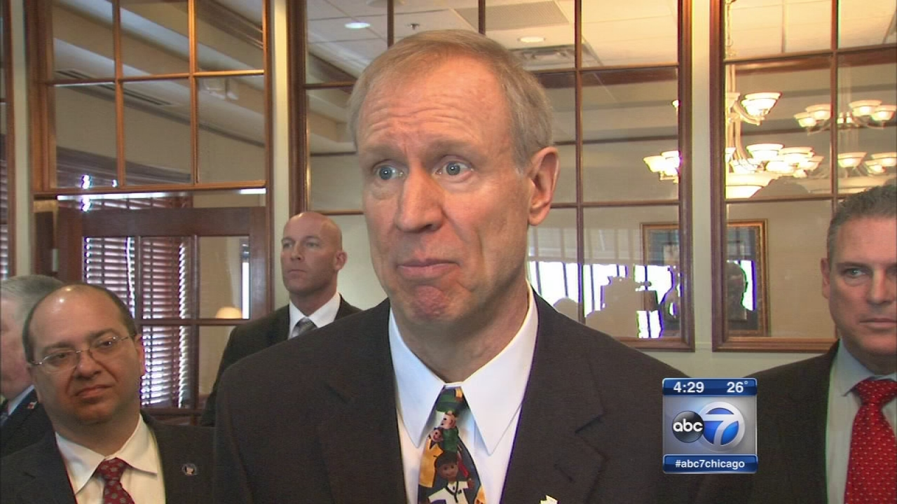 Chicago is on the road to bankruptcy, Rauner says