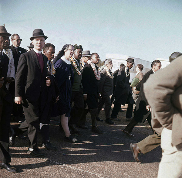 "<div class=""meta image-caption""><div class=""origin-logo origin-image none""><span>none</span></div><span class=""caption-text"">March, 1965: Martin Luther King, center, leads a march from Selma to Montgomery, Ala. (Photo/AP Photo)</span></div>"