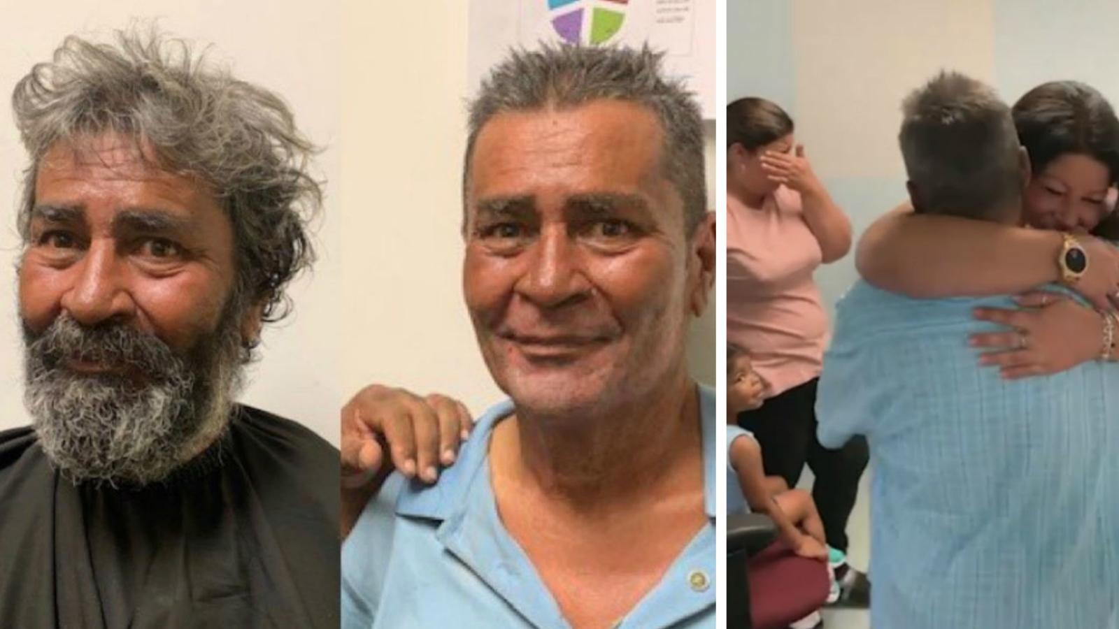 Tears of joy: NJ Transit reunites homeless man with daughter, granddaughters
