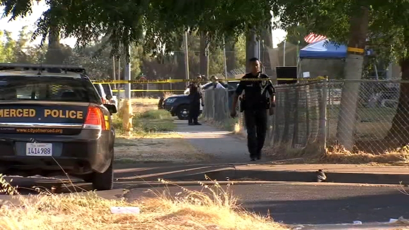 One person shot in Merced, police say