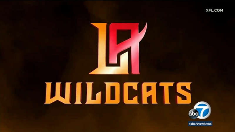 b58f24c0 XFL unveils 8 new team names, including Los Angeles Wildcats