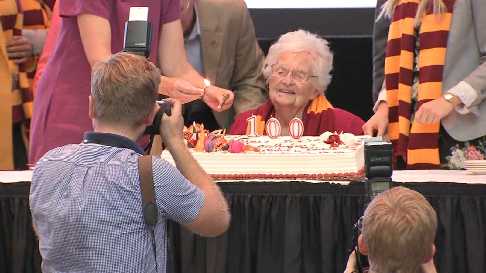Fans across US celebrate Sister Jean's 100th birthday