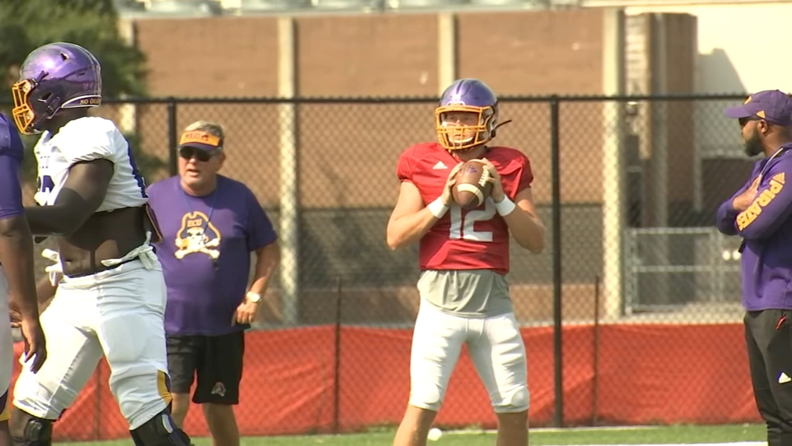 New-look Pirates preparing for rematch with NC State