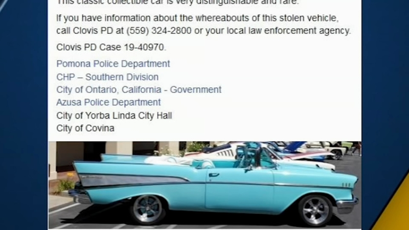 Classic car theft solved, investigation connects to burglary spree