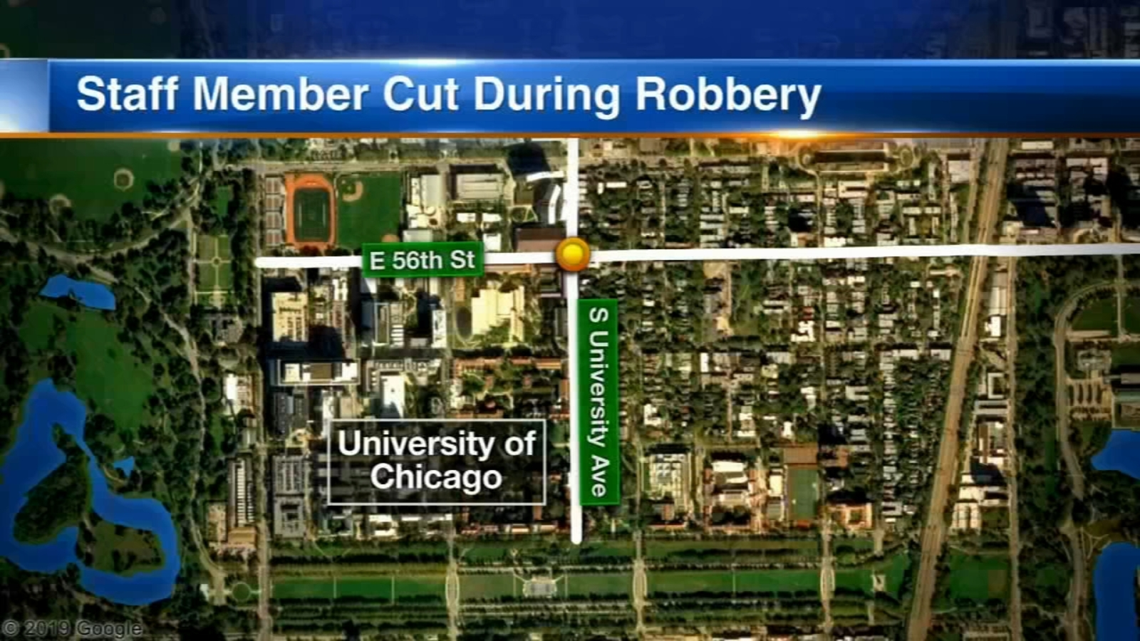 University of Chicago staff member cut during afternoon campus robbery