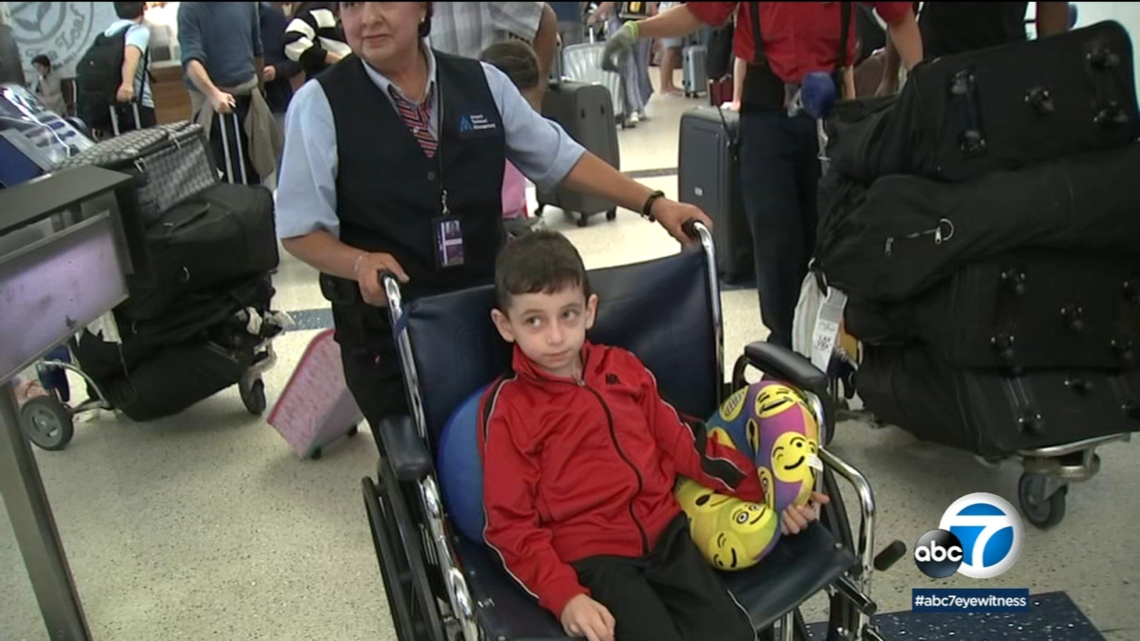 8-year-old boy returns to California from Syria to treat his rare disease