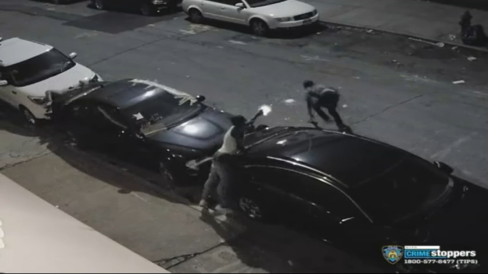 Video shows chaotic scene in Brooklyn double shooting